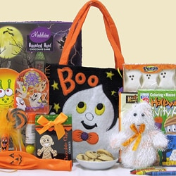 Spooky Sweets & Treats Halloween Kids Gift Basket