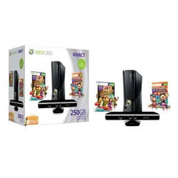 Xbox 360 - 250GB Console Kinect Bundle