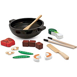 Melissa & Doug Stir Fry Slicing Play Set