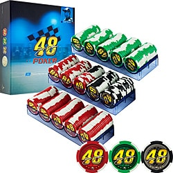 Jimmie Johnson NASCAR 300 Premium Poker Chip Set