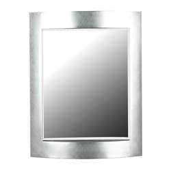 Tipton (35 x 28) Silver Wall Mirror