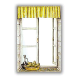 Provence with Pears Mirror