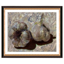 'Garlic and Old Lace' Giclee Frame Matted Print