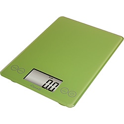 Escali Arti Lime Green 15-pound Digital Food Scale