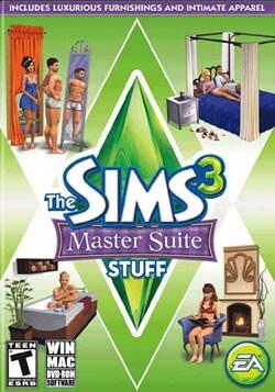 PC - Sims 3 Master Suite Stuff