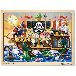 Melissa & Doug 48-piece Pirate Adventure Jigsaw Puzzle