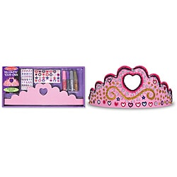 Melissa & Doug Princess Tiara DYO Craft Set