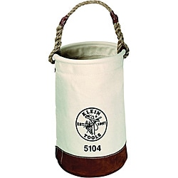 Klein Tools Leather Bottom Canvas Tool Bucket