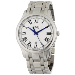 ESQ by Movado Men's Filmore Stainless Steel Roman Dial Watch