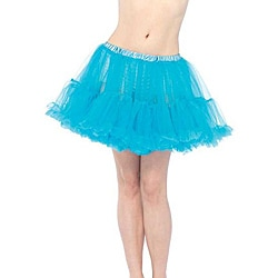 Layered Tulle Turquoise Petticoat