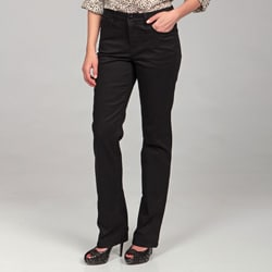 Jones New York Women's Black Mid-rise Pants