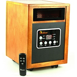 Dr Infrared Heater 1500W Dual System Portable Quartz Infrared Heater