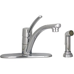 Price Pfister Parisa 1-Handle Chrome Kitchen Faucet with Sidespray