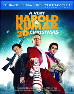 A Very Harold & Kumar Christmas - Extra Dope Edition (Blu-ray 3D / Blu-ray / DVD / Ultraviolet)