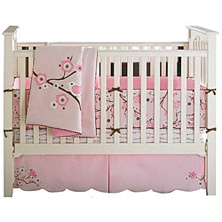 Bananafish MiGi Blossom 3-piece Crib Bedding Set