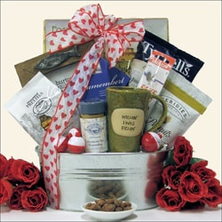 'Gone Fishing' Valentine's Day Fishing Gift Basket