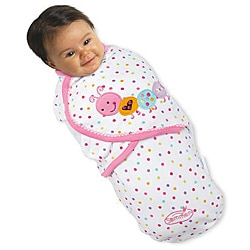 Summer Infant Small SwaddleMe Blanket in Caterpillar