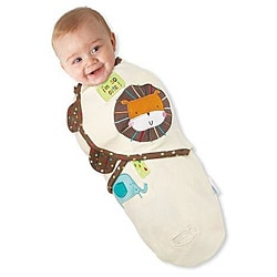 Summer Infant Small SwaddleMe Blanket in Safari