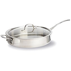 Calphalon Tri-ply Stainless Steel 5-qt Saute Pan