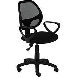Percy Black Mesh Office Chair