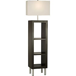 Nova Twin Etagere Shelving Lamp