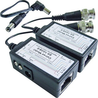 Calrad Electronics CCTV Balun Video & Power (Pair)