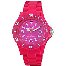 Ice Women's Classic Pink Polycarbonate Watch