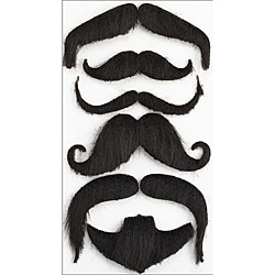 Jolee's Boutique Moustaches Parcel Dimensional Stickers