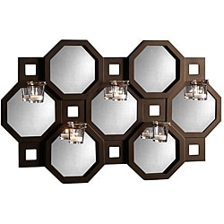 Studio Nova 23-inch Mirror with Tea Lights