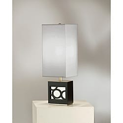 Nova Carlo Dark Brown Table Lamp