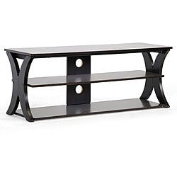 Xavier Modern Brown MDF/ Steel TV Stand