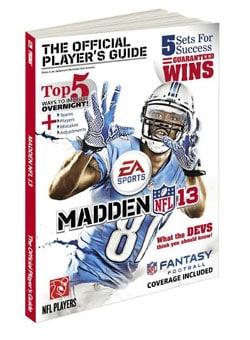 Madden NFL 13: The Official Player's Guide (Paperback)