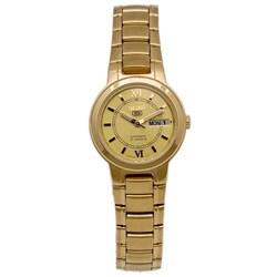 Seiko Women and apos s Seiko 5 Stainless Steel Watch