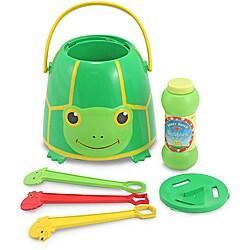 Melissa & Doug Tootle Turtle Bubble Bucket 9010998
