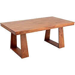 Emily New Oak Wood Dining Table