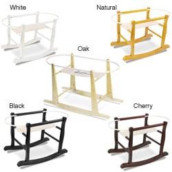 Jolly Jumper Wooden Rocking Basket Stand