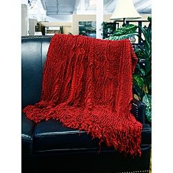 Charlotte Ruffle Throw