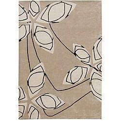 Alliyah Handmade Cuban Sand New Zealand Blend Wool Rug 9x12