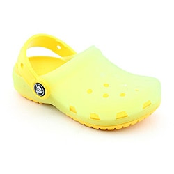 Crocs Girl's Chameleons Translucent Clog Green Casual Shoes