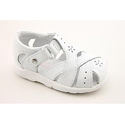 Stride Rite Girl's SRT Tulip White Sandals