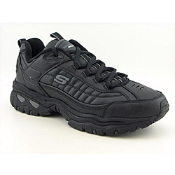 Skechers USA Sport Men's Energy-After Burn Black Athletic (Size 12)