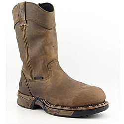 Rocky Men&#39;s 11&quot; Pull-on Aztec Brown Boots