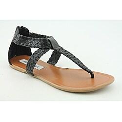 Steve Madden Women's Pressto Black Sandals