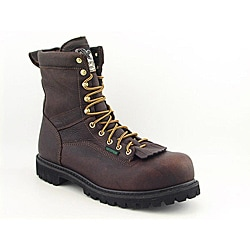 Georgia Men's Logger Brown Boots Wide (Size 11.5)
