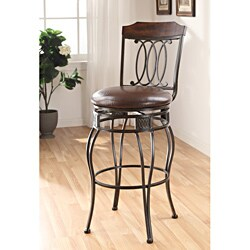 Swivel Espresso Bar Chair (Set of 2)