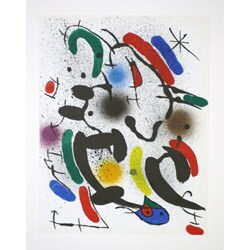 Joan Miro Limited Edition Lithograph 'Untitled M.862'