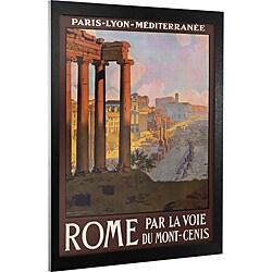 Travel Europe 'Rome' Framed Canvas Art