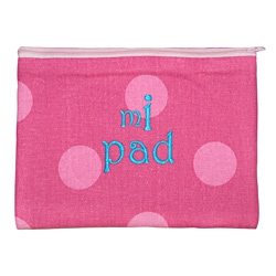 Premium Apple iPad Pink Dot Cover
