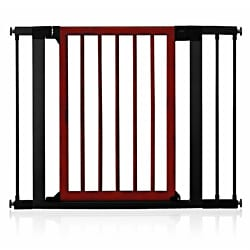 Munchkin Deco Dark Wood Safety Gate