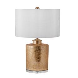 Glam Cylinder Porcelain Lamp